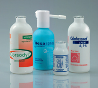 Plasic coating on glass bottles