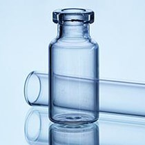 Picture of 2 ml - 2R Injection vial, Clear Type 1 Tubular glass