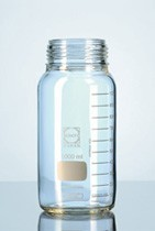 Picture of 2000 ml, GLS 80 Laboratory glass bottle