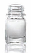 Picture of 4 ml dropper bottle, clear, type 3 moulded glass