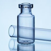 Picture of 5 ml Injection bottle, amber Type 1 Tubular glass