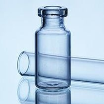 Picture of 10 ml - 10R dropper bottle, Clear Type 1 Tubular glass