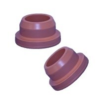 Picture of 32mm infusion stopper, PH4106/50 Red