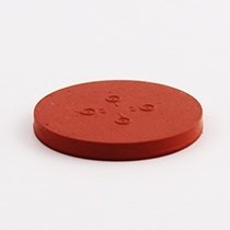 Picture of 38mm pharmaceutical disc, PH010 Pink